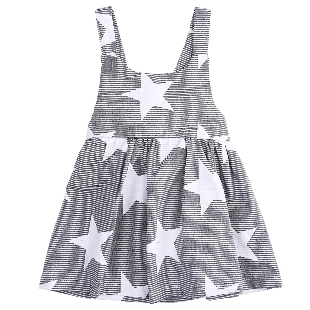 Sleeveless Sundress with Stars