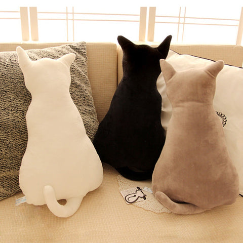Decorative Cat Throw Pillow