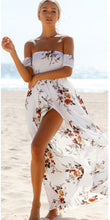 Olivia Floral Chiffon Maxi Summer Beach Dress
