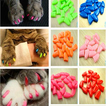 Soft Colorful Cat Nail Caps
