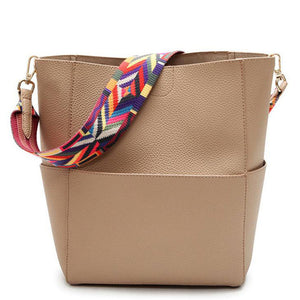 Tribal Strap Bucket Bag (Free Shipping)