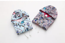 Pretty Fox Printed Hooded Jacket for Toddler