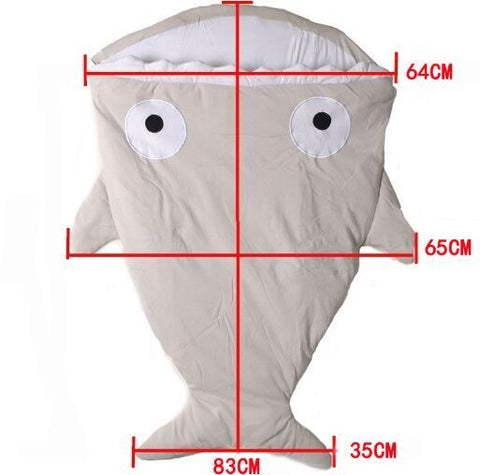 Mr. Shark Baby Sleeping Bag (Free Shipping)