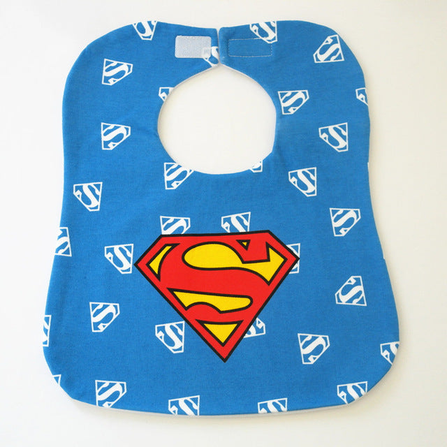 Marvel Super Hero Baby Waterproof Cotton Feeding Bib