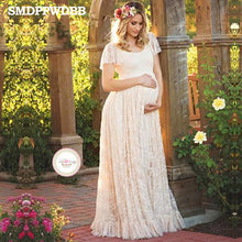 Maternity Maxi Elegant Dress