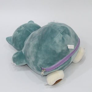 "PREMIUM 12"" DITTO/SNORLAX REVERSIBLE PLUSH"