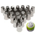 24Pcs Russian Piping Nozzle Icing Tips