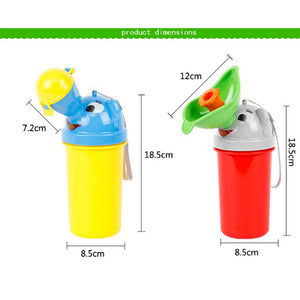 Portable Convenient Travel Kid Urinal Potty (FREE SHIPPING)