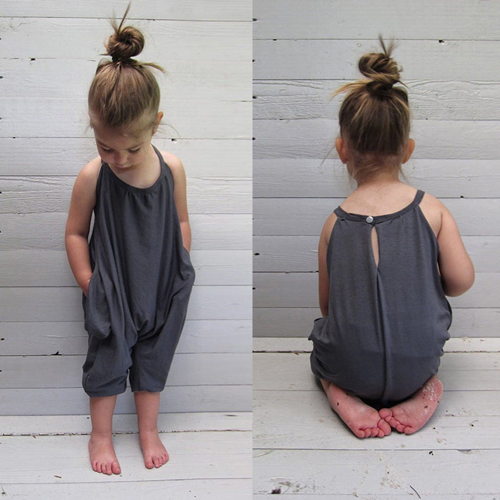 Emma Jumpsuit in Gray