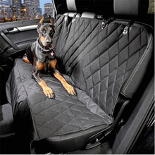 Luxury Waterproof Dog Car Seat Cover Hammock with Zipper & Side Flaps