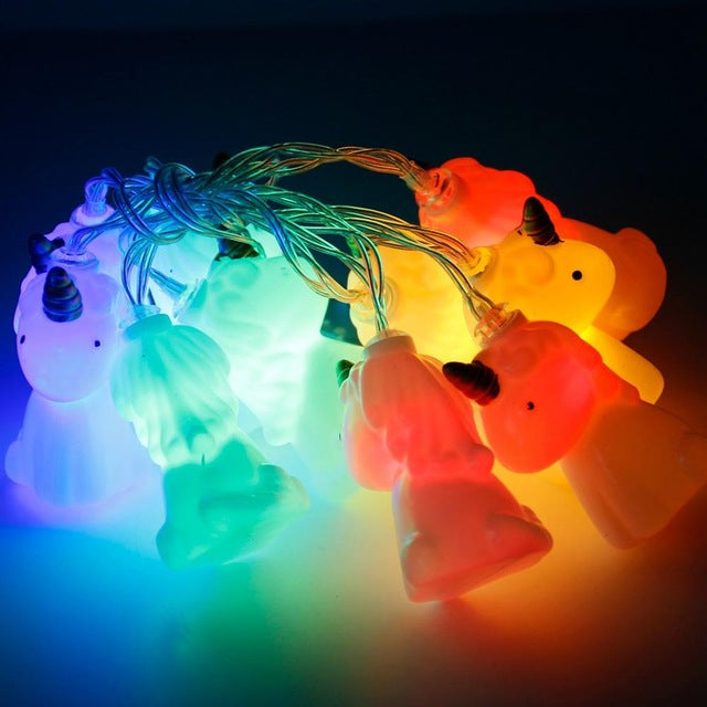 Unicorn LED String Lights (Set of 10)