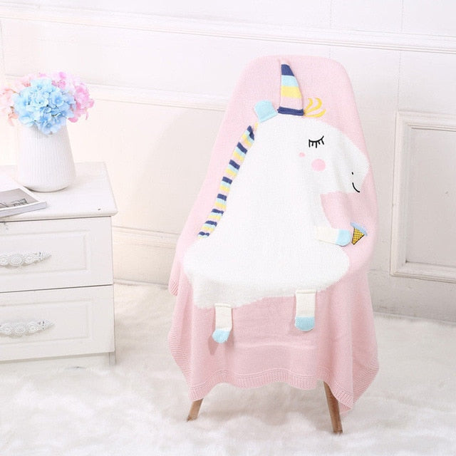Toddler Unicorn Blanket