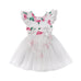 2-Pc Floral Romper + Tutu Skirt Sets (0-2Y)