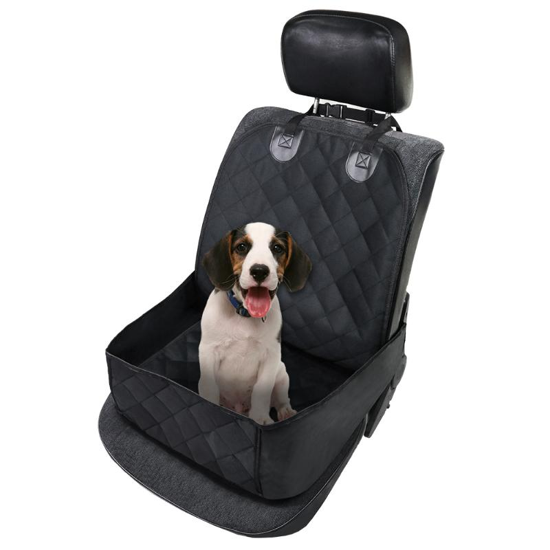 3 in 1 Deluxe Pet Single-Seat Car Cover Protector