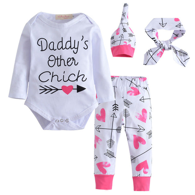 4 Pc Daddy's Other Chick Set