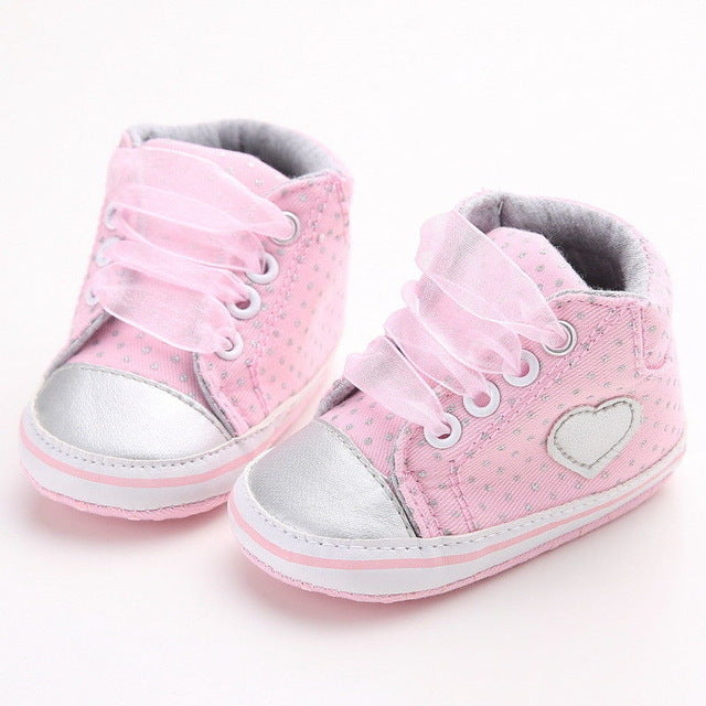 Baby Anti-slip Canvas Pre-Walker Shoes