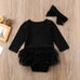 2-Pc Ruffle Bodysuit