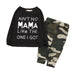 2-Pc Ain't No Mama Camouflage Set