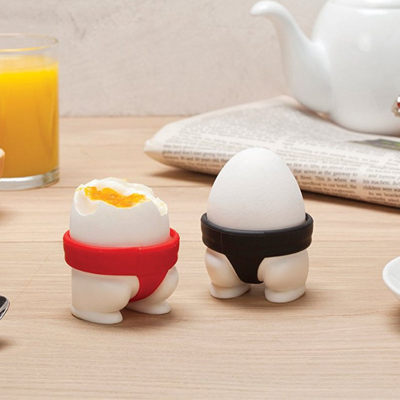 Sumo Silicone Egg Holders (Set of 2)