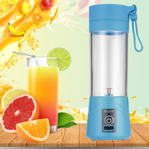 Portable USB Electric Juicer Bottle Blender