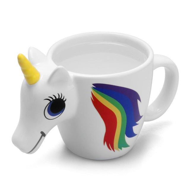 3D COLOR CHANGING UNICORN MUG