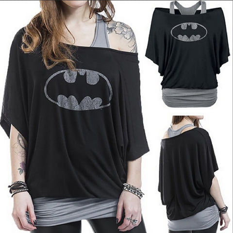 1-Piece  Batman Tank Top