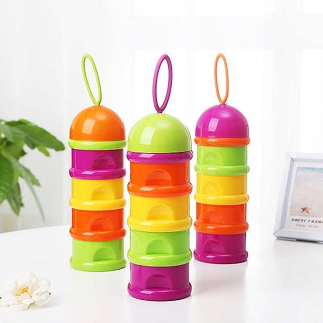 Multi-Color Food and Milk Dispenser