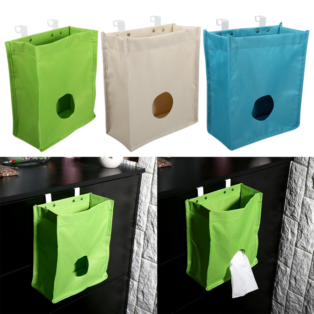 Hanging Oxford Plastic Bag Organizer