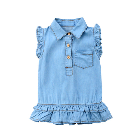 Julie Denim Dress 6M-4Y