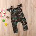 Daddy's Little Soldier Jumpsuit ( 3M-5Y)
