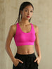 High Impact Running Padded  Seamless  Sport Bra