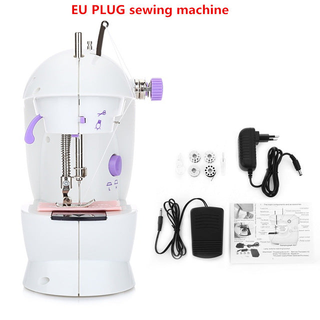 Portable Mini Electric Sewing Machine
