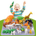 Animal  Figures big Building Block