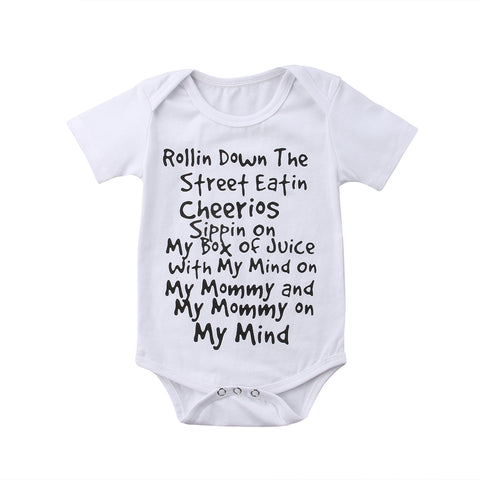 Rolling Down The Street Bodysuit (0-24M)
