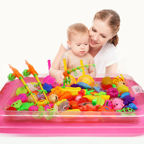 Children  Magnetic Fishing Toy Set