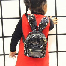 Kids Sequined Bunny Ears Backpack