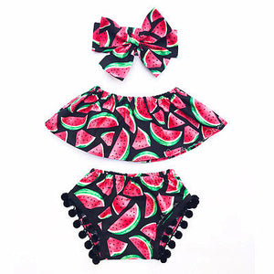 3-Pc Watermelon Outfit (FREE SHIPPING)