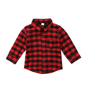 Can't Touch This Plaid Top (Free Shipping)