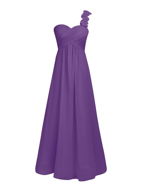 Elegant Beautiful Chiffon Gown Available in 10 Colors