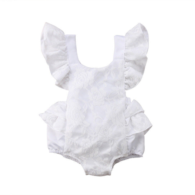 Lace Rompers 0-24M