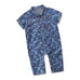 Baby Boy Camouflage Button Jumpsuit 0-24M
