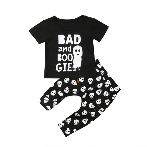 2-Pc Bad & Boogie Halloween Set  0-2Y