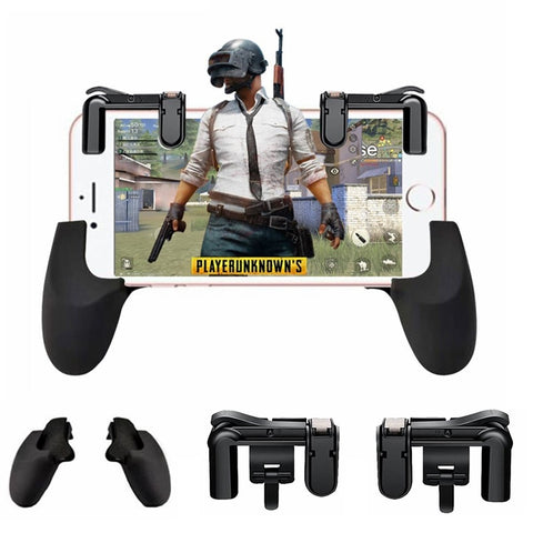 L1R1 PUBG Mobile Game Controller Shooter Trigger Fire Button for iPhones/Android Phones
