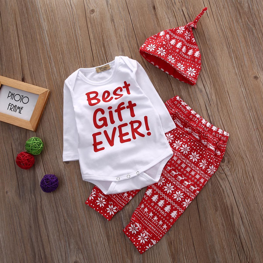 3-Pc Best Gift Ever Christmas Set