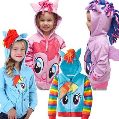 Children Ponies & Marvel Superheroes Hooded Sweaters (3Y-10Y FREE SHIPPING WORLDWIDE)