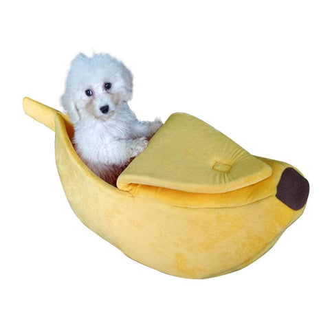 Soft Banana Breathable Cat Or Puppy Bed (Free Shipping)