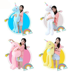 Plush Unicorn Stuffed Toy ( 60cm, 85cm, 110cm, 140cm) Free Shipping