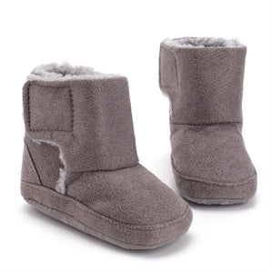 Winter  Baby  Warm Soft Sole Snow Boots Size 0-18M (Free Shipping)
