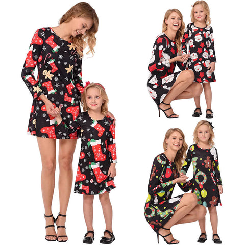 Mother & Daughter Christmas Family Set