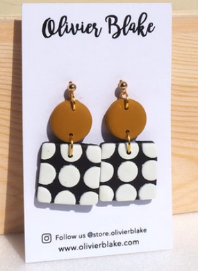 Dots Earrings(two)